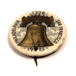 Pan-Pacific Expo. Pin-Back 1776-1915  [129669]
