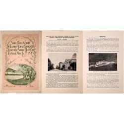 Santa Clara County Blossom Festival Program 1915  [127911]