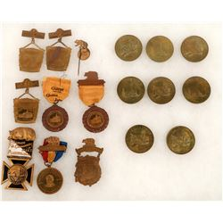 Calif. Gold Discovery Jubilee Medallions and Badges  [129884]