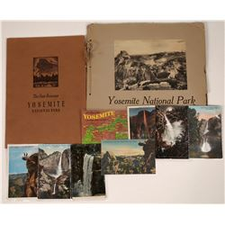 Yosemite Albums and Postcards Collection  [123830]