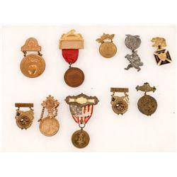 California Fraternal Souvenir Lapel Pins  [129880]