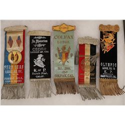 Knights of Pythias and WOTW Ribbons  [131056]