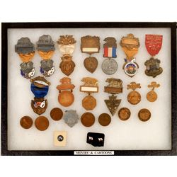 N.S.G.W Ribbons, Pins and Medals  [129883]