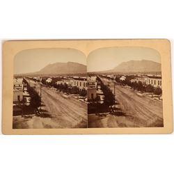 Colorado Springs Early Stereoview  [131534]
