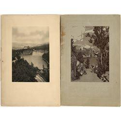 Two Souvenir Books of Lake Mohonk, New York  [129721]
