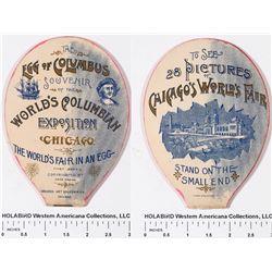 Egg of Columbus Souvenir World's Exposition Chicago  [129127]