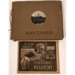 Two Eastern City View Publications: Boston and Hartford  [123825]