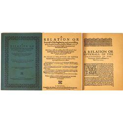 Reprint of Plymouth Pilgrim Record  [129809]