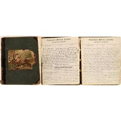 Military Academy 1882 Record of Damages Log  [129726]
