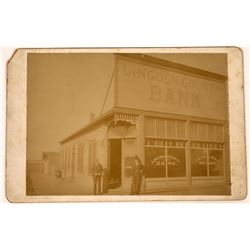 Cabinet Card of Lincoln County Bank, New Mexico   [128007]