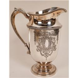 Large Silvercraft Sterling? Water Pitcher  [127720]
