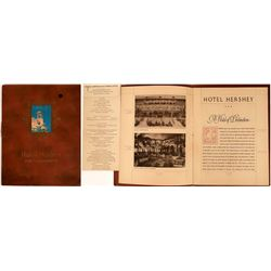 """""""Hotel Hershey and Community"""" Promotional Brochure  [123838]"""