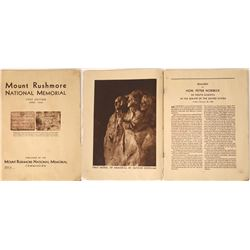 Mount Rushmore Memorial First Edition  [128244]