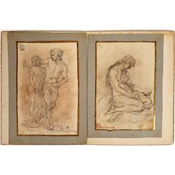 Antonio Canova Sketches--Rare  [126699]