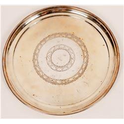"Elkington 12"" Electroplate (Nickel Silver) Round Tray  [127723]"