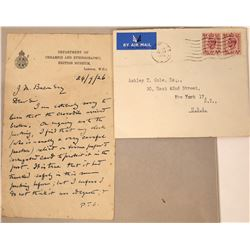 Two Autographed Correspondence From Second Viscount Knollys  [131357]