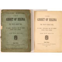 """The Gibbet of Regina"" Propoganda Booklet  [128250]"