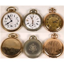 A Trio of Pocket Watches  [122502]