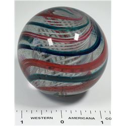 A Two Inch Toe Breaker Mammoth Glass Marble  [125402]