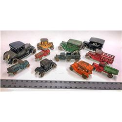 Cast Iron Toy Truck Collection (11)  [129988]