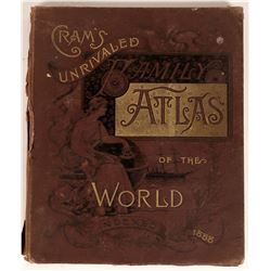 Crams Atlas 1888  [131482]