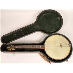 Vintage Elton Four String Banjo  [122493]