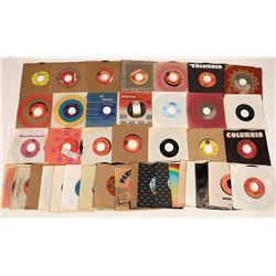 Vinyl 45 RPM Country Records (45)  [129803]