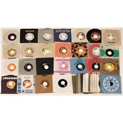 Collection of 45 RPM Rock Records (50)  [129801]