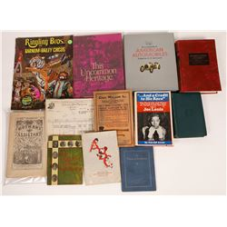 Americana Book & Pamphlet Collection  [131281]