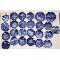Bing & Grondahl Souvenir Plate Collection (25)  [121516]