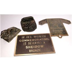 Brass and Bronze Collectibles (4)  [131600]