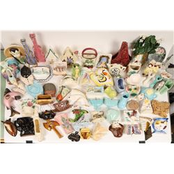 Ceramic Wall Pocket Collection, unmarked (Approx 70 pieces)  [131008]