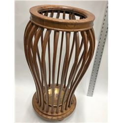 Original Wood Umbrella Stand  [131508]