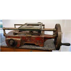 U.S. Slicing Machine - Antique  [122510]