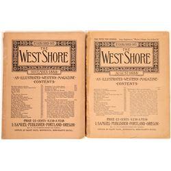 West Shore Illustrated Western Magazine group  [123847]