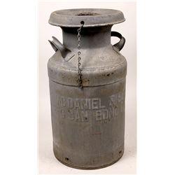 San Bernardino Embossed Milk Tin  [133637]