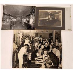 California Large Size Black & White Saloon Photos  [123954]