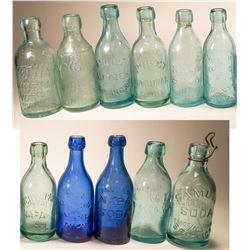 Napa Antique Soda Bottle Collection  [131403]