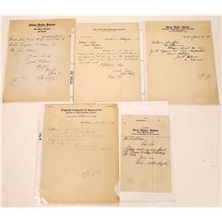 Belt, Montana Saloon Billhead Collection  [123944]