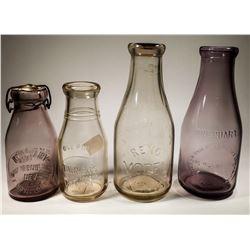 Reno Nevada Milk Bottle Collection  [131535]