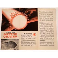 Arizona Meteor Crater Brochure  [128021]