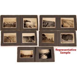 Custom Nome Photograph Album, Highlighting Mining, 1900-1902  [131066]