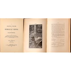 """Practical Treatise on Hydraulic Mining in California"" by Bowie, 1905  [123821]"