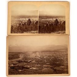 Birds Eye Views of Leadville, 1880s  [131073]
