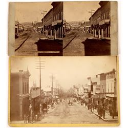 Chestnut Street Original Photographs, Two Different Views, c1880  [131071]