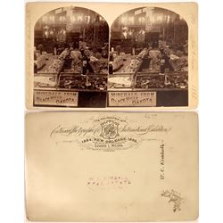 New Orleans Expo. Stereoview of Minerals from Black Hill S.D.  [131039]