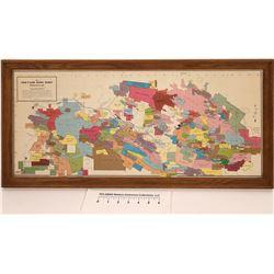 Coeur d'Alene Mining Claims Map, 1969  [126905]