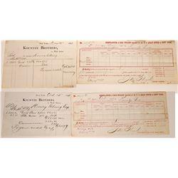 Henry Elling (Montana) / Kountze Brothers & U. S. Assay Office (New York) Collection (23)