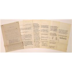 Tonopah Mining Agreement Papers  [127001]