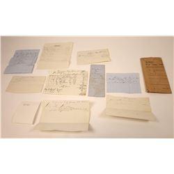 Lyon Zacharia Debtors Court Docs, Virginia City Cigar & Liquor Store, 1865  [128842]